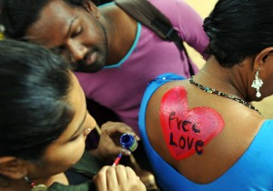 INDIA-GAY-LAWS-RIGHTS-ANNIVERSARY