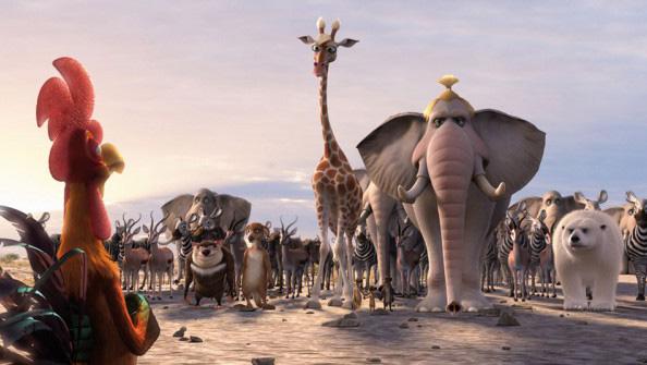 Animals unitedu201d: la carica in 3d degli animali che vogliono salvare