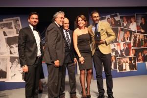 A CLAUDIA GERINI premio GIOELLO UNA VITA PER IL CINEMA