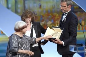 Agnes Varda - Cannes 2015