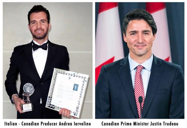 Andrea-Iervolino-Justin-Trudeau-premio-marzo-2017