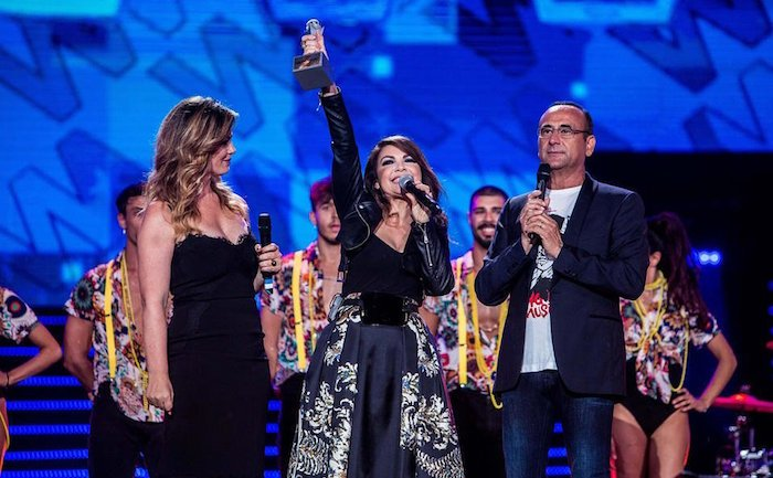 Ascolti Tv, Martedì 5 Giugno 2018: Wind Music Awards Vince