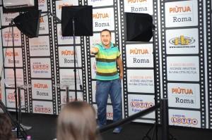 Attore-Lina-Wertmuller-Roberto-Bigherati-Ciak-si-Roma-Il-Gioco-del-Lotto-RB-Casting-Festival-di-Roma-2014