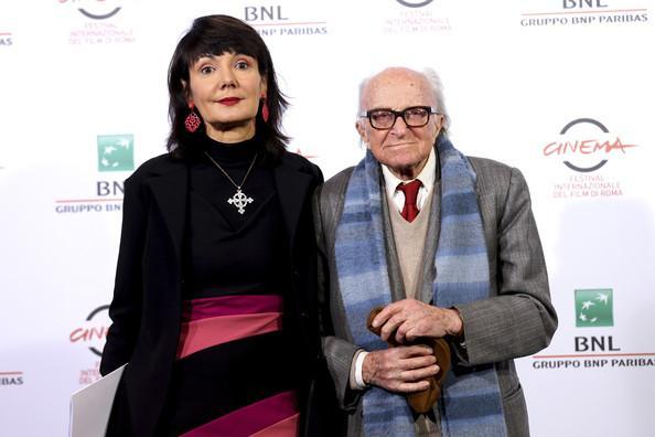 Due-volte-Delta-Elisabetta-Sgarbi-Boris-Pahor-photocall-Festiva-di-Roma-2014