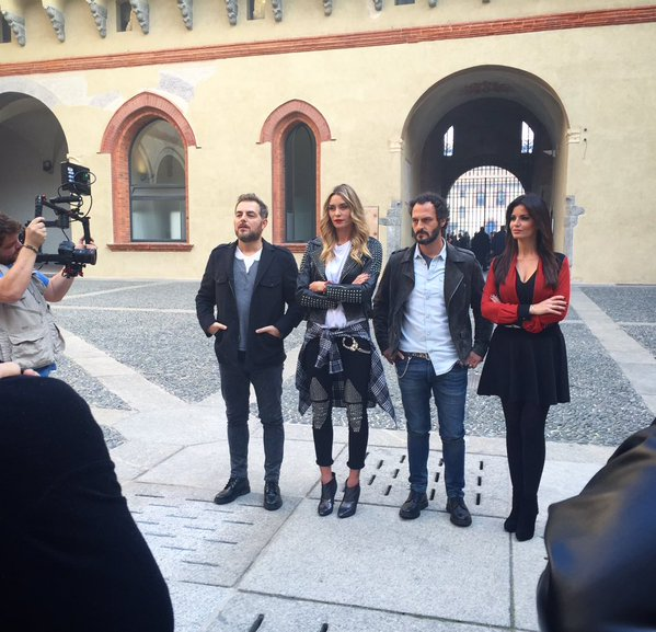 Elenoire Casalegno, Daniele-Bossari-Laura-Torrisi-Fabio-Troiano-Mistero-Adventure-6353