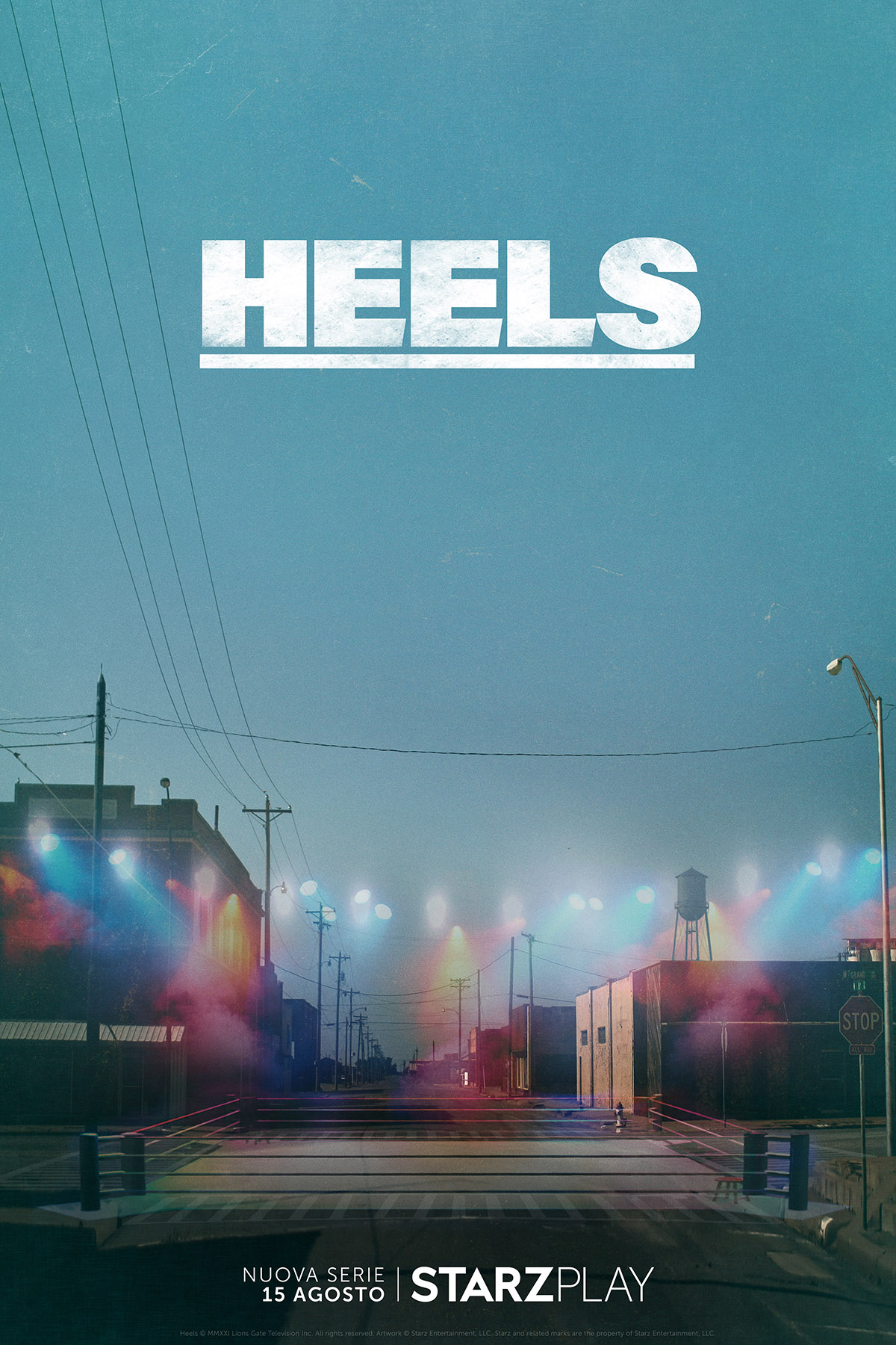 """Starzplay presenta """"Heels"""", nuova serie ambientata nel mondo del wrestling    RB Casting"""