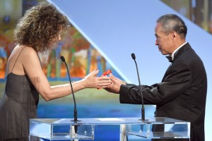 Hou Hsiao-Hsien - Best Director © AFP : Anne-Christine Poujoulat - Cannes 2015