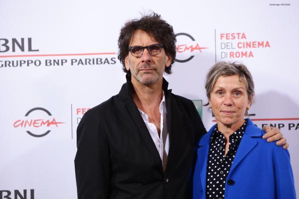 Joel Coen - Frances McDormand - Festa del Cinema di Roma 2015