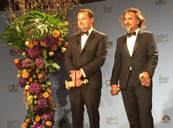 Leonardo-DiCaprio-Alejandro-Gonzalez-Inarritu-Golden-Globes-2016