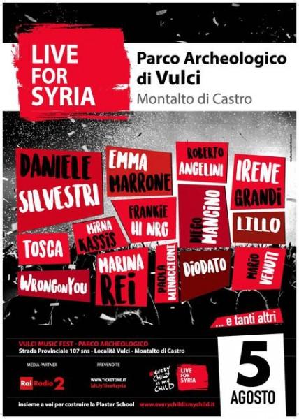 Manifesto Live for Syria