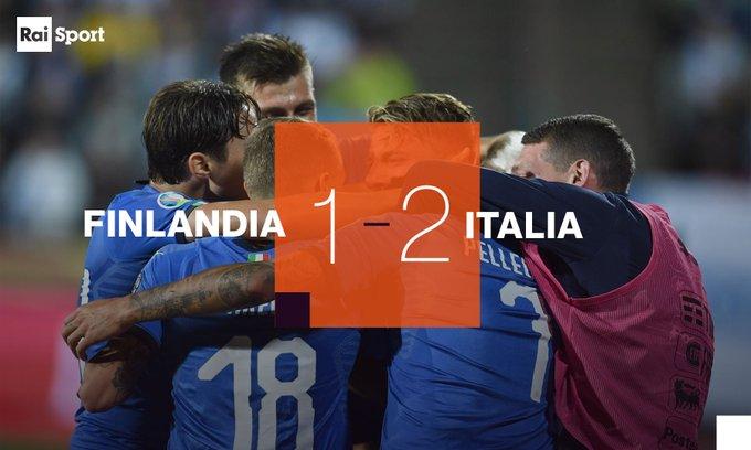 Ascolti Tv, domenica 8 settembre 2019: Italia-Finlandia vince con il ...