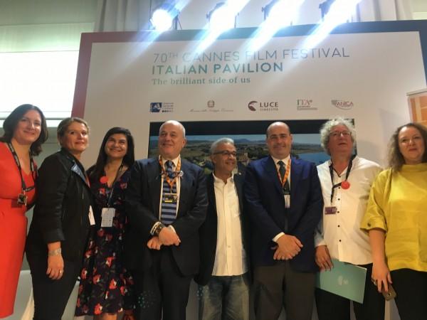 Nicola-Zingaretti-Luciano-Sovena-Cannes-Cristina-Priarone-2017-1