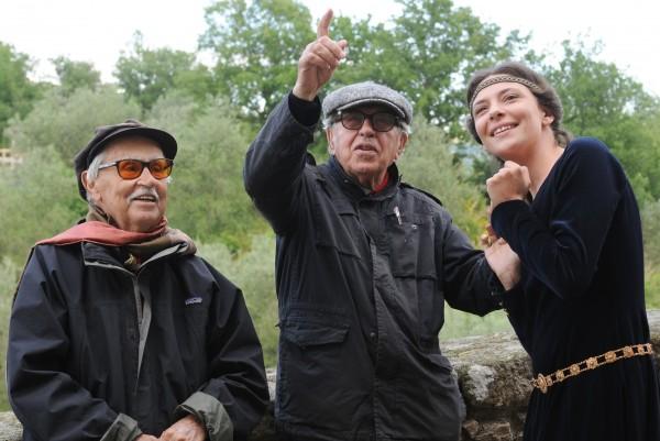 Paolo-e-Vittorio-Taviani-con-Jasmine-Trinca-2015