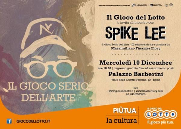 Spike-Lee-il-giovo-del-lotto-10-Dicembre-2014-invito-incontro-roma