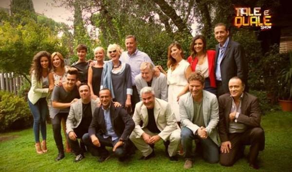 Tale-e-quale-show-Carlo-Conti-e-il-Cast-2014