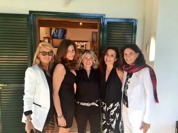Ursula Seelenbacher, Paola Spinetti, Anna Chigi, Chiara Civello e Florinda Bolkan