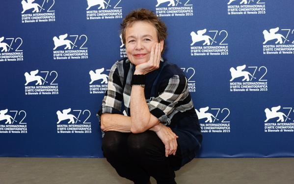 VENEZIA-72-PHOTOCALL-LAURIE-ANDERSON-HEART-OF-A-DOG-2015