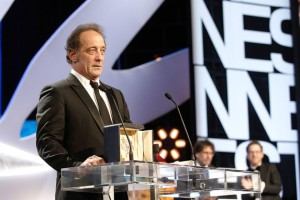 Vincent Lindon - Best performance by an actor © AFP : Valery Hache - Canne 2015