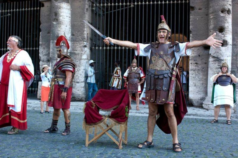 Benur un gladiatore in affitto all isola tiberina rb for Occasione affitto roma