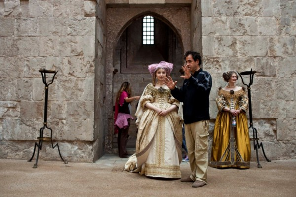 _hMG_8332_Matteo Garrone sul set di IL RACCONTO DEI RACCONTI a Castel del Monte (Andria)
