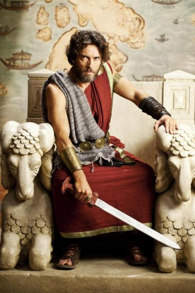 Il ritorno di Ulisse, Alessio Boni è il leggendario re di Itaca