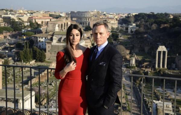 Bond 24 film shooting in Rome, Italy