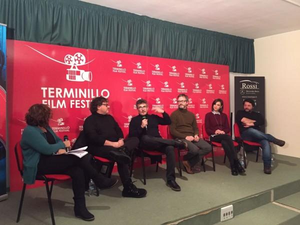 tavola rotonda con Laura Delli Colli,Marco Belardi, Paolo Genovese, Roberto Proia, Marianna Di Martino e Lillo