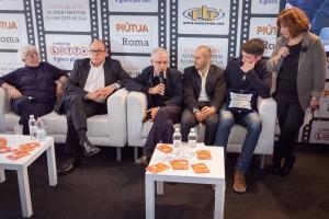 21-Carlo-Verdone-Daniele-Luchetti-Lina-Wertmuller-Roberto-Bigherati-Laura-Delli-Colli-con-Andrea-Lattanzi-Ciak-si-Roma-il-Gioco-de-Lotto-RB-Casting-Festival-di-Roma-2014
