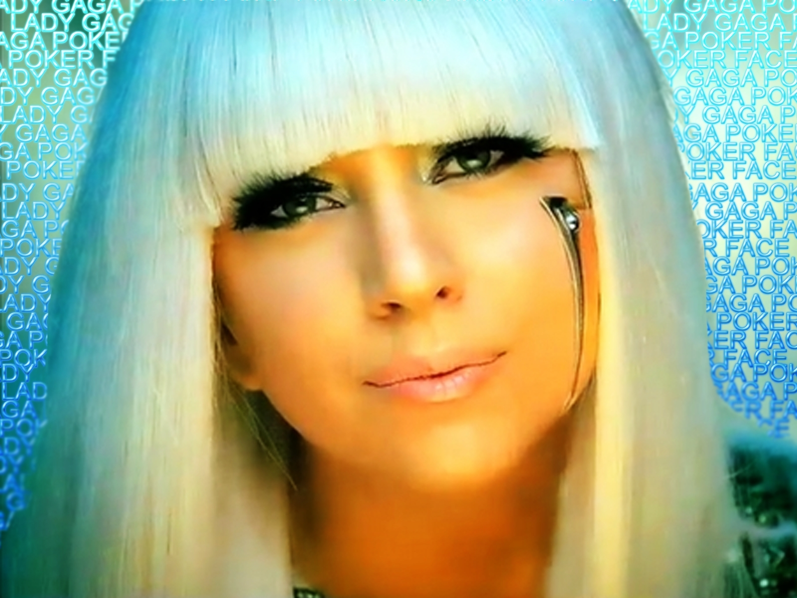 Lady Gaga Face