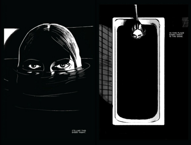 a girl walks home alone at night graphic novel pdf