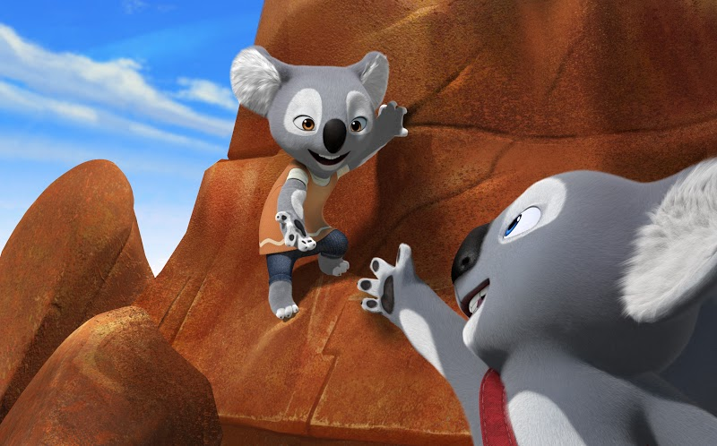 Koala superstore cartone animato desktop cestino con coperchio