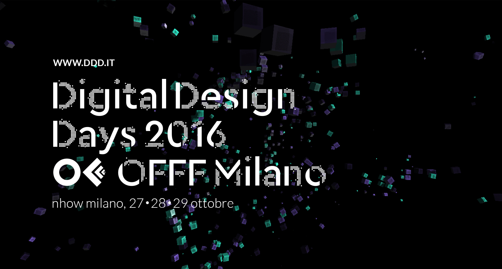 Un grande evento a milano arriva il digital design days for Milano design 2016