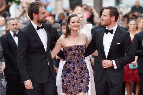 Justin Kurzel, Marion Cotillard, Michael Fassbender - Red carpet - Macbeth © Getty Images : Pascal Le Segretain - Canne 2015