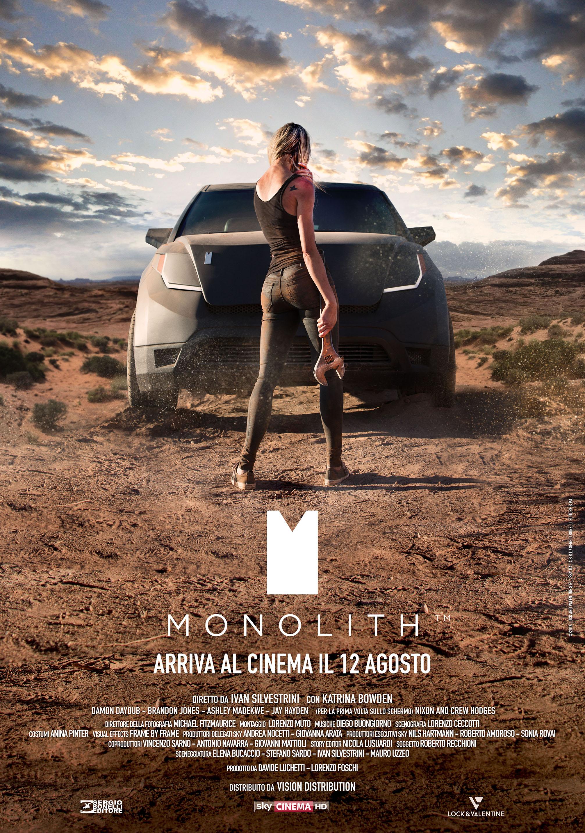 Risultati immagini per monolith poster film 2017