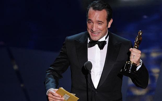 Oscar 2012 la francia conquista hollywood vince the for Dujardin oscar