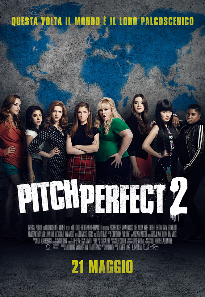 Pitch Perfect 2     le Barden Bellas stanno tornadoPitch Perfect 2